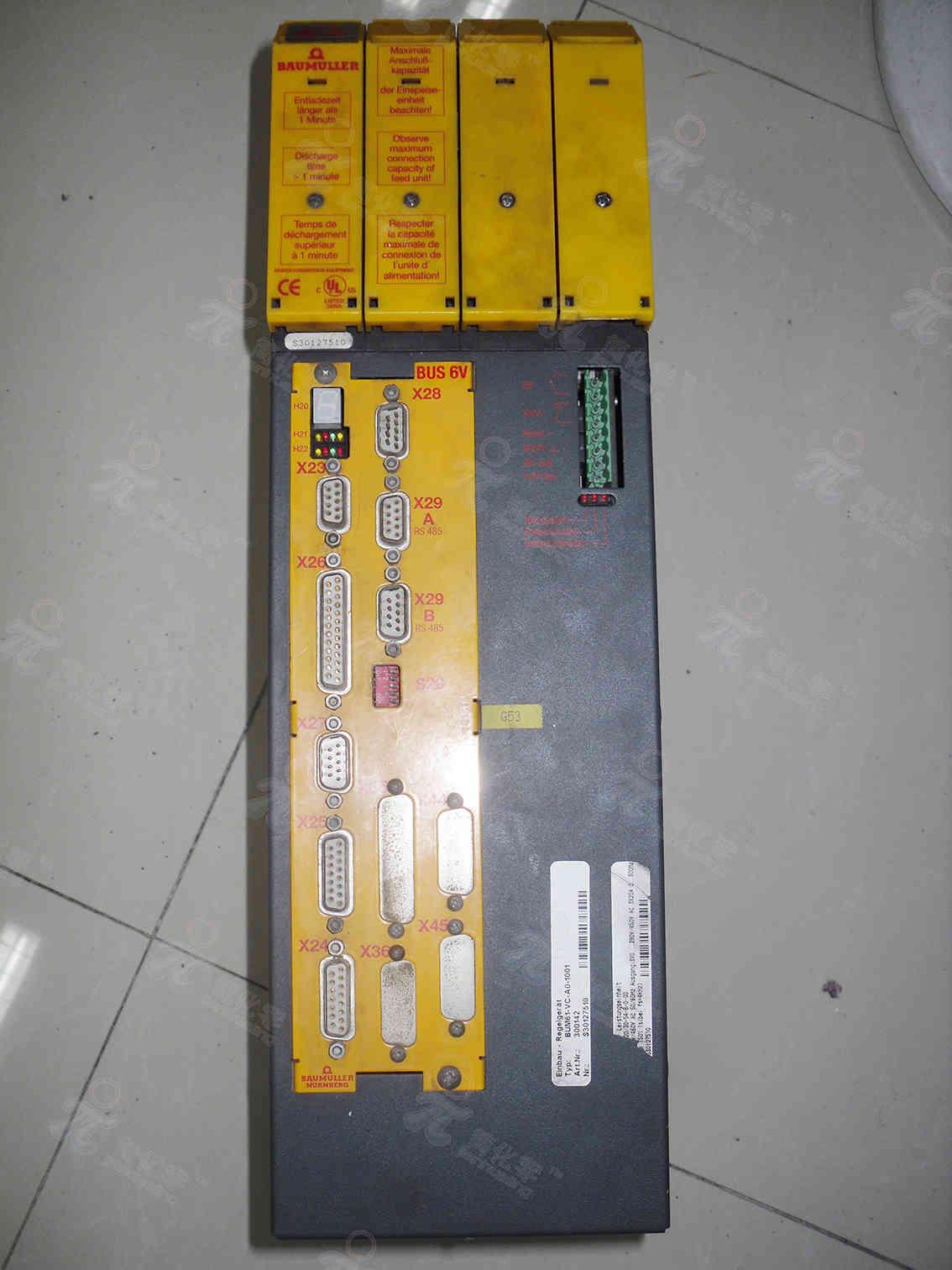 鲍米勒BAUMULLER伺服驱动器维修BUM61-VC-AO-1001